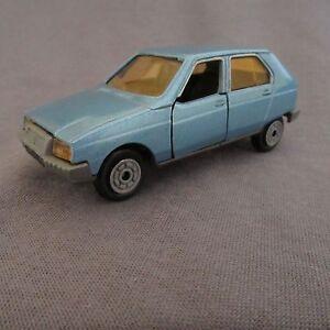 608E-Vintage-Norev-Jet-Car-782-Citroen-Visa-Blu-1-43