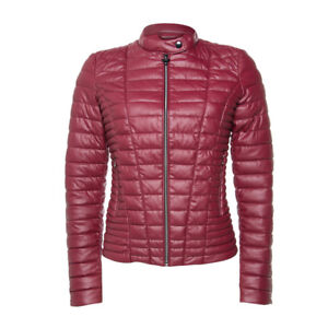 enorme sconto 3b436 97ff2 Details about GUESS PIUMINO-GIUBBOTTO DONNA VONA CANDY APPLE PINK JACKET
