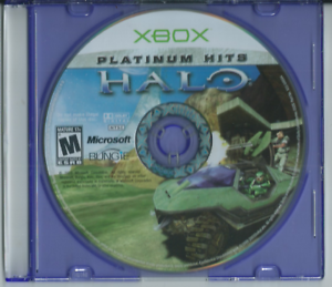 Halo: Platinum Hits (Microsoft Xbox, 2002) (Game Only) 🎮🎮🎮