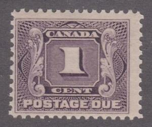 Canada-1906-J1-First-Postage-Due-Issue-F-MNH