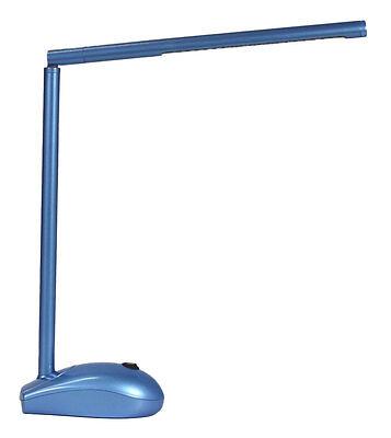 led lampada da scrivania blu con a batteria e corrente / USB PORTA PC MAUS