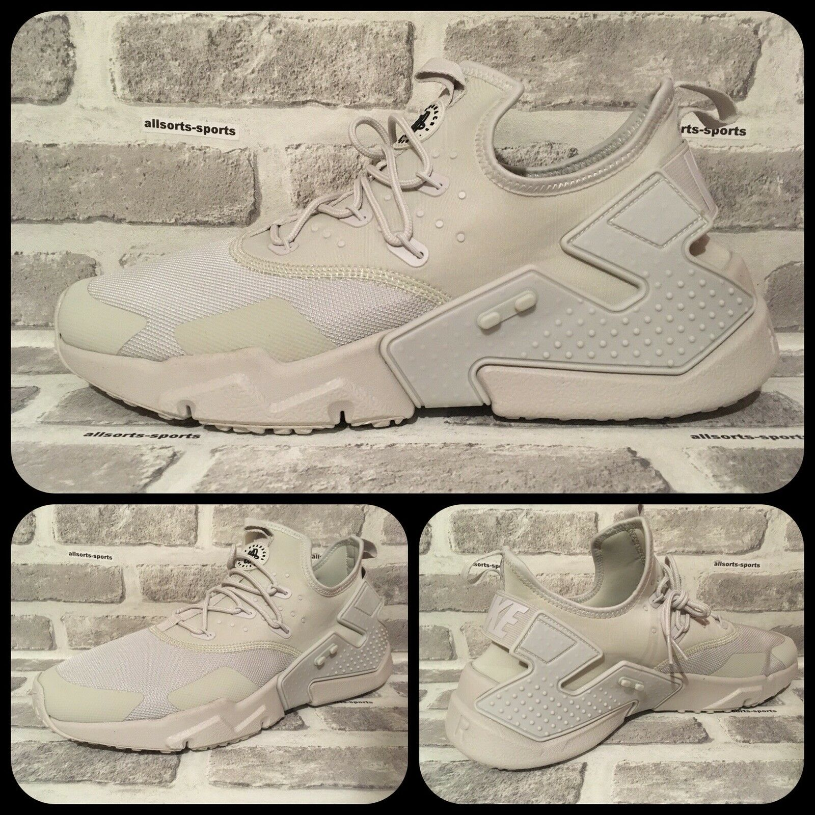 Nike Air Huarache Drift      AH7334-001 Light Bone