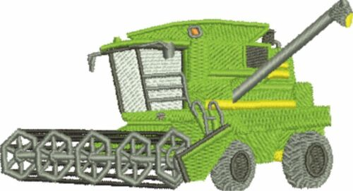 Combine Harvester Embroidered /& Personalised T Shirt
