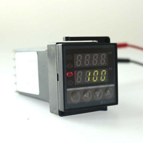REX-C100 Digital PID Temperature Controller DC 110V 220V  Dual LED SSR Aquarium