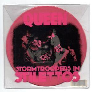 QUEEN-Stormtroopers-In-Stilettos-RSD-pink-vinyl-7-034-single-Keep-Yourself-Alive-NM