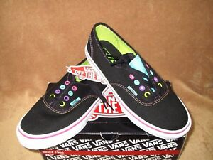 6b0e2d7d8258 Image is loading NEW-VANS-AUTHENTIC-MULTI-POP-SKATE-SHOE-BLACK-