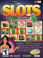 Wms Slots Jade Monkey 15 Slots Included Pc Game Dvd-rom In Box