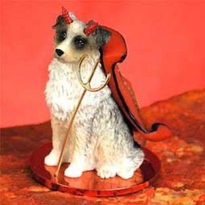 Newfoundland Devil Dog Tiny One Figurine Statue