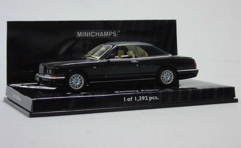 436 139930 Minichamps Bentley Azur 1996 Noir 1 43 Miniature à L'Échelle Voiture