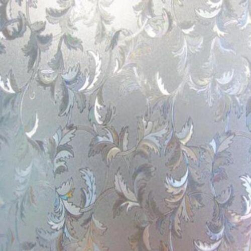 Fensterfolie Blätter Ranken GLC1041-50x46 cm  statische Dekorfolie Sichtschutz