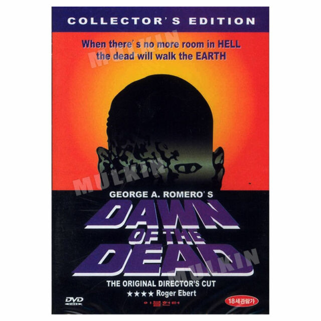 Dawn of the Dead : Director's Cut (1978) DVD - George A. Romero (*New* *Sealed*)