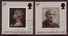 GREAT BRITAIN 2007 FINE USED PAIR EX. MACHIN PRESTIGE BOOKLET.