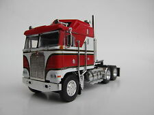 DCP 1/64 SCALE KENWORTH K100 AERODYNE CABOVER (TRACTOR ONLY) RED,WHITE & BLACK