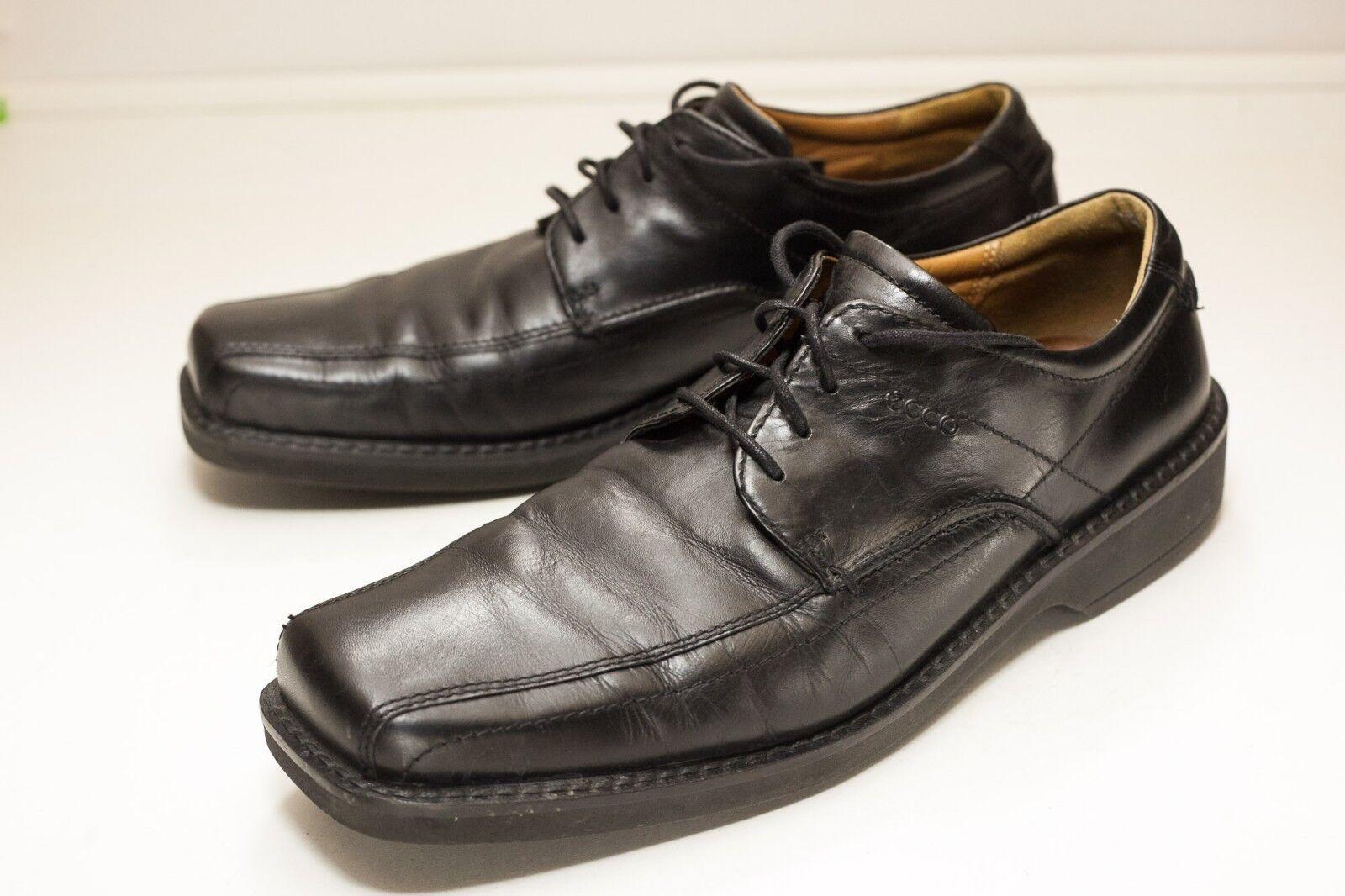 fino al 60% di sconto ECCO Dimensione 13 to 13.5 nero Dress scarpe Uomo EU EU EU 47  servizio di prima classe