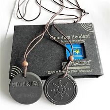 Quantum Scalar Energy Pendant Negative Ions EMF Protection + Authenticity Card
