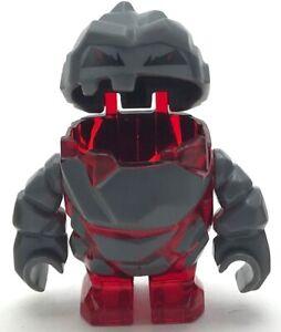 LEGO-NEW-ROCK-MONSTER-MELTROX-TRANS-RED-MINIFIGURE