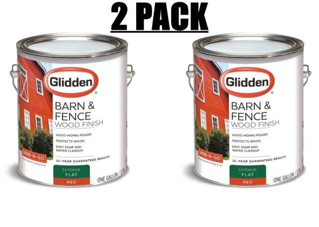 2 Pack Glidden Grab N Go Barn Fence