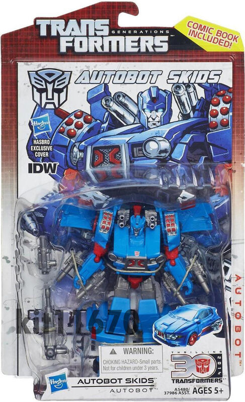 Transformers Generations IDW 30th Anniversary Deluxe Class Carbot Skids New