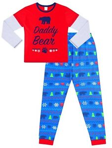 Little Bear Matching Family Long Pyjamas Christmas Matching PJs