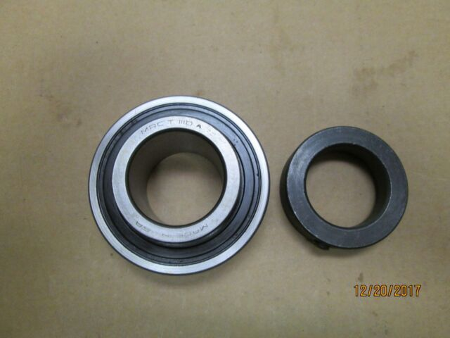 """2PCS  7610DLG  5//8/"""" Insert Ball Bearing With Snap Ring NEW S8702-88 1-3//4/""""  OD"""