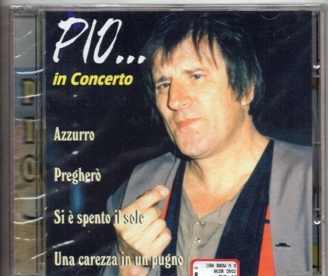 PIO in CONCERTO canta ADRIANO CELENTANO raro CD 1998