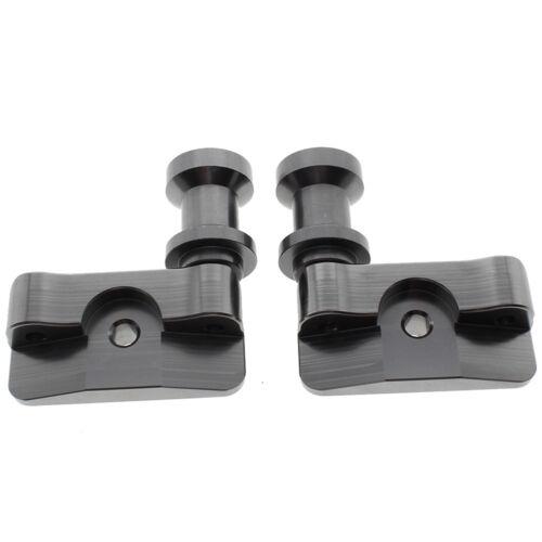 8mm Hole CNC Swingarm Spool Adapters Mounts For Honda CBR250R CBR300R