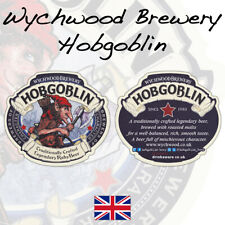 "Wychwood Brewery /""Afraid of the dark,Lagerboy?/"" Beer Mats x 2 from 2006 Homebar"