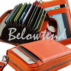 Stylish Leather Business Credit ID Card Holder Case Wallet Purse Cards Newest
