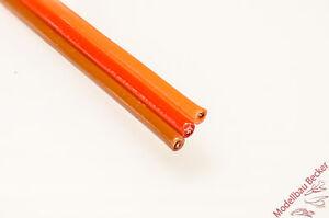 5m-PVC-Servolitze-Servokabel-flach-JR-braun-rot-orange-0-96-m