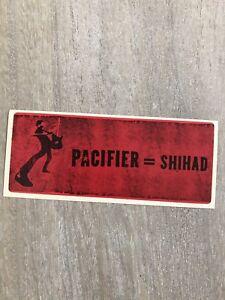 Pacifier-Shihad-Promo-Sticker-2002