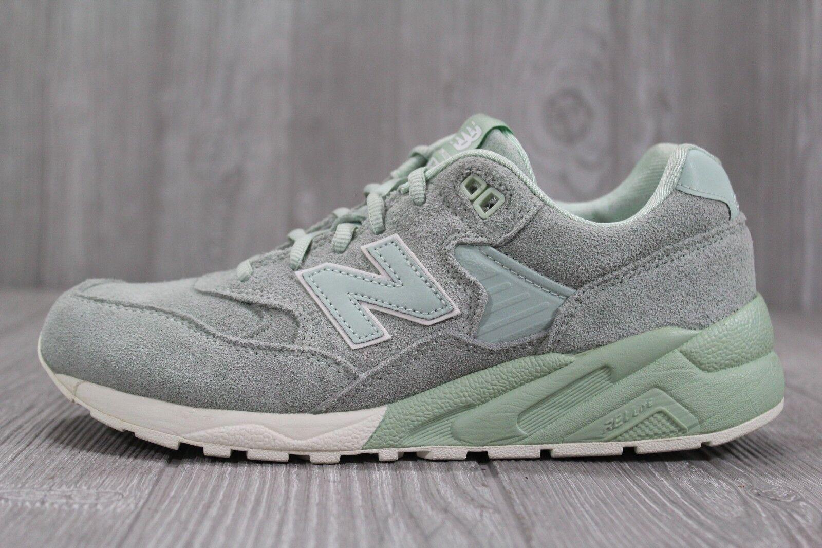36 New Balance 580 Sage Green Suede Running shoes MRT580MC Mens 6 Women's 7.5