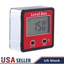 Magnetic Digital Inclinometer Level Box Gauge Angle Meter Finder Protractor New