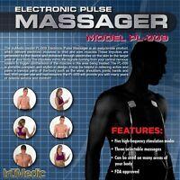 Nerve Relief Pulse Massager Muscle Stimulator Trumedic Tens Unit Electronic