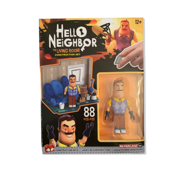 1 lot of 6 Hello Neighbor collectible figures series