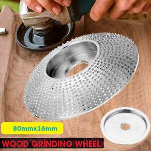 Tungsten Carbide Grinding Wheel Wood Sanding Carving Disc Angle Grinder Wheel