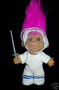 "NEW IN ORIGINAL WRAPPER FENCER 5/"" Russ Troll  Doll"