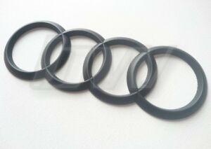 Black-Audi-Badge-Arriere-Quatre-Anneaux-A3-A4-A5-A6-TDI-S-LINE-2013-Onwards