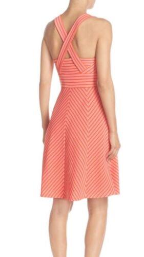 Stretch Neu Etikett Stoff Kleid Papell größe Einzelhandel L Adrianna Mit x7F6IqEwq8