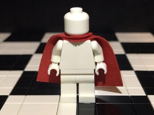 Bodywear Minifigure Not Included. Lego Minifigure Red Standard Cape X1