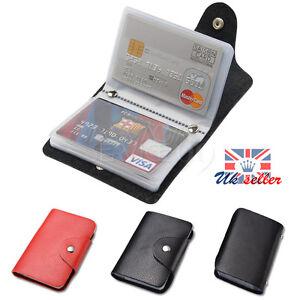 24-cartes-pu-cuir-ID-carte-de-visite-porte-monnaie-de-poche-portefeuille-boite