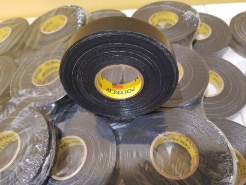"4-pk Polyken 268 Black Automotive Electrical Wiring OEM High Temp Tape 3//4/""x50/'"