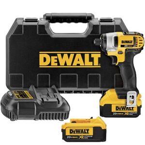 DeWALT-DCF885M2-20V-MAX-Lithium-Ion-1-4-034-Impact-Driver-Kit