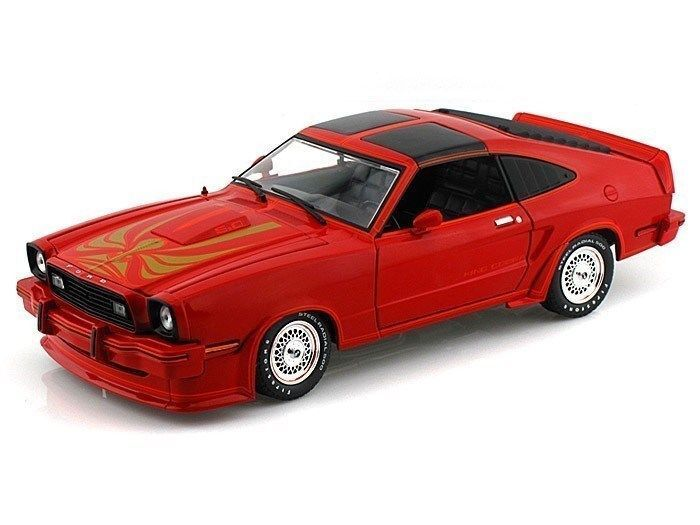 GREENLIGHT AUTO DIE CAST FORD MUSTANG II KING COBRA 2018 ED.LIMITATA 12879