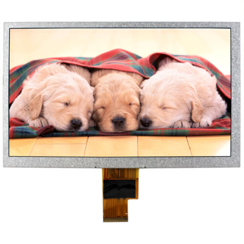 "8/"" LCD Panel ZJ080NA-08A 1024X600 40Pin LCD Screen 40Pin LVDS Interface"
