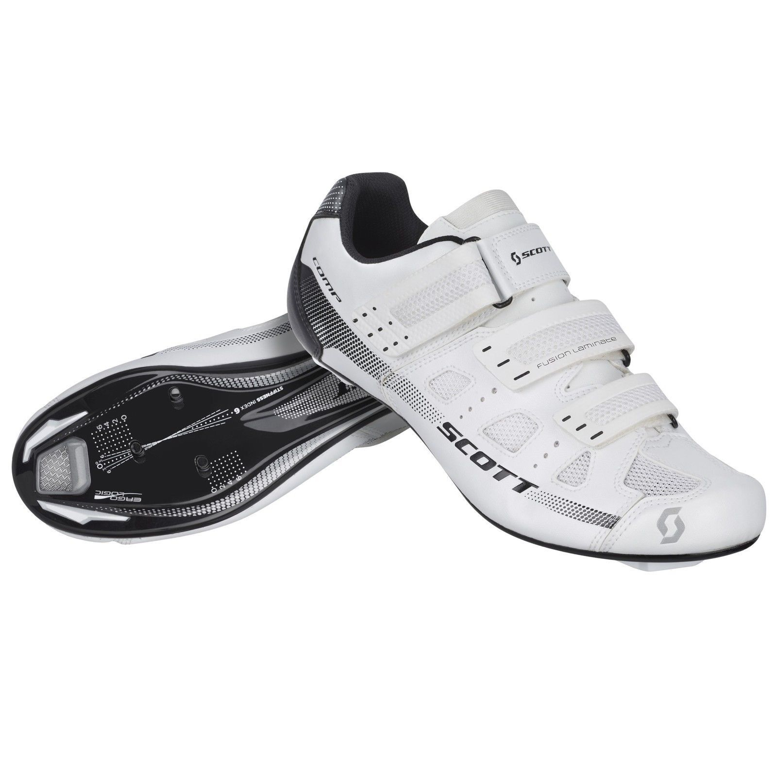 shoes SCOTT ROAD COMP 2015 color BIANCO taglia 41