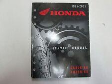 1995 2005 Honda CR80R CR85R RB Service Repair Shop Manual WORN FACTORY OEM DEAL