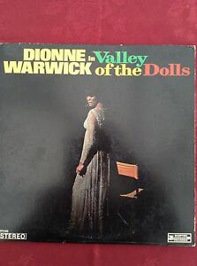 DIONNE WARWICK: VALLEY OF THE DOLLS 1968 US Scepter LP SPS568 Rare  Bacharach
