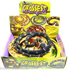 Fake Snake Fake PVC Snake Coiled Snake Prank Snake Realistic Toy Snake Joke New