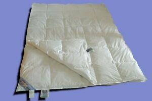 4-Vier-Jahreszeitendecke-Bettdecke-Daunendecke-100-Daunen-155x220-cm-weiss