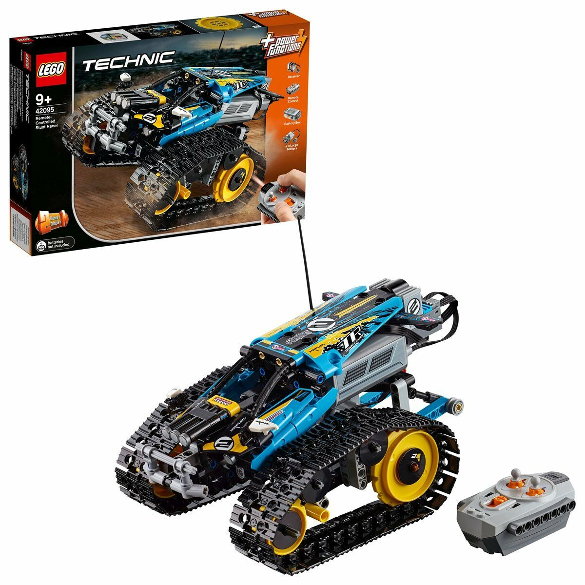 LEGO® Technic 42095 Ferngesteuerter Stunt-Racer 324 Teile Neuheit 2019 Ovp
